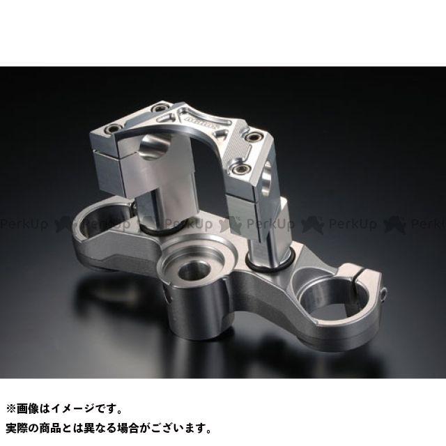 アグラス MT-01 ハンドルアッパーブラケット&トップブリッジSET(STDバー用) AGRAS