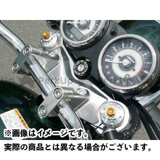 アグラス W800 トップブリッジ関連パーツ トップブリッジ ハンドルアッパーブラケット付き