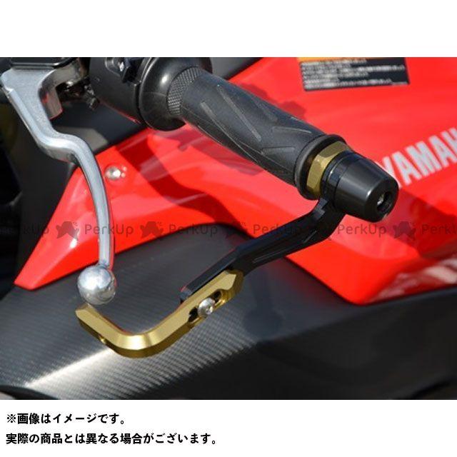 アグラス MT-07 MT-09 レバーガード シルバー ブラック ブラック AGRAS