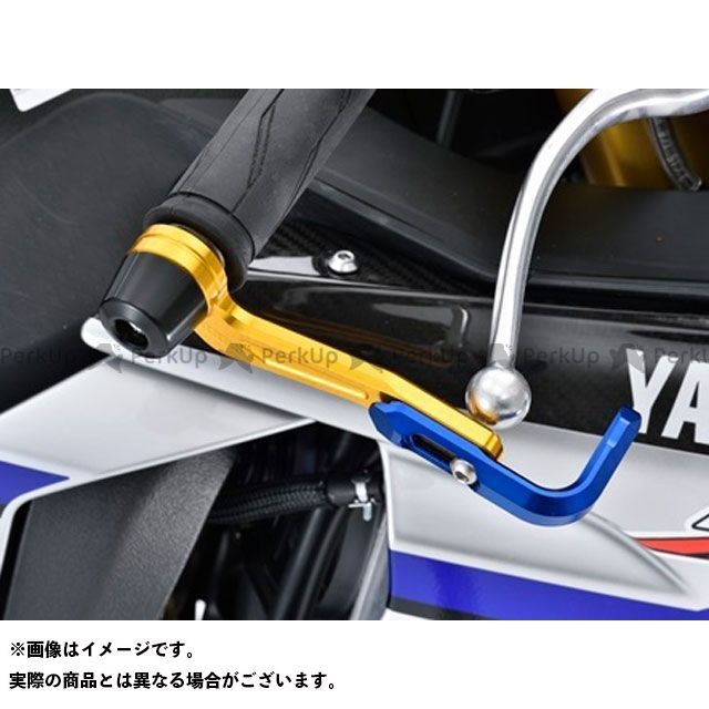 アグラス YZF-R1 YZF-R1M レバーガード ゴールド ブルー ブラック