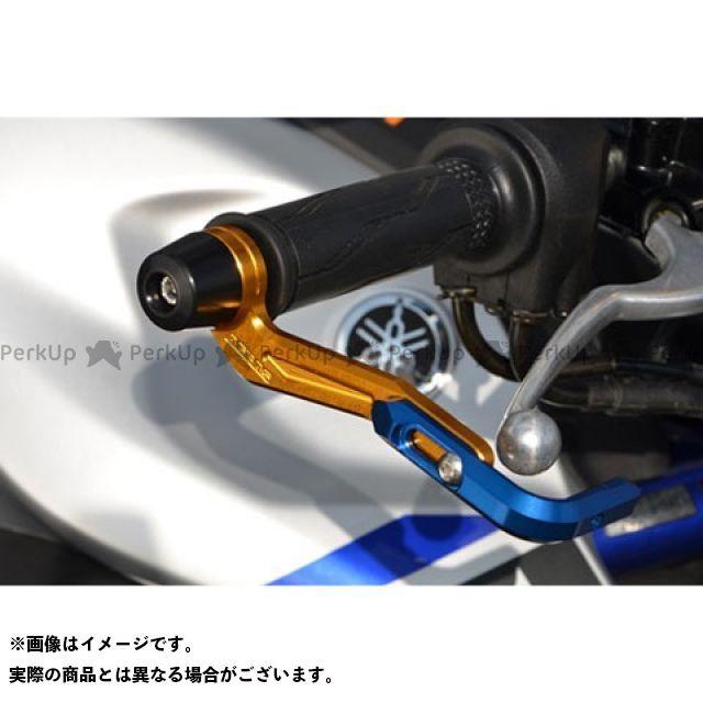 【無料雑誌付き】アグラス MT-25 レバーガード ガードエンド&ベースカラー:チタン ガードステー:ゴールド ジュラコン:ブラック AGRAS