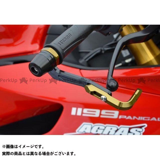 【無料雑誌付き】アグラス 1199パニガーレ レバーガード ガードエンド&ベースカラー:チタン/ゴールド/ブラック AGRAS