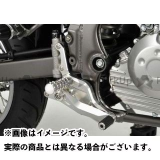 【エントリーで更にP5倍】アグラス Dトラッカー125 バックステップ(ストリート用) AGRAS