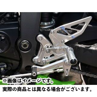 【エントリーで更にP5倍】アグラス ニンジャZX-6R バックステップ AGRAS