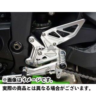 【エントリーで更にP5倍】アグラス ニンジャZX-6R バックステップ レース用 AGRAS