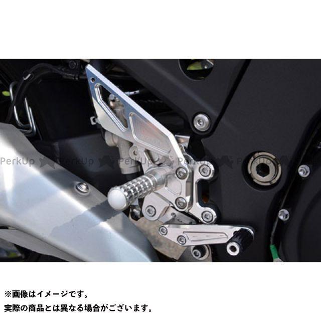 【エントリーで更にP5倍】アグラス ニンジャZX-14R バックステップ AGRAS