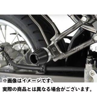 アグラス Dトラッカー125 タンデムスライダー(ジュラコン(R)/左右セット) カラー:ホワイト AGRAS