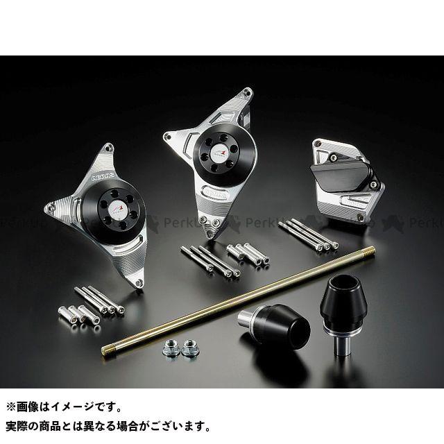 アグラス グラディウス400 スライダー類 Rスライダー 5点SET φ60 黒