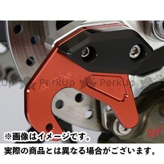 【エントリーで最大P23倍】アグラス CBR1000RRファイヤーブレード チェーンアジャスタースライダー用スタンドプレート カラー:レッド AGRAS