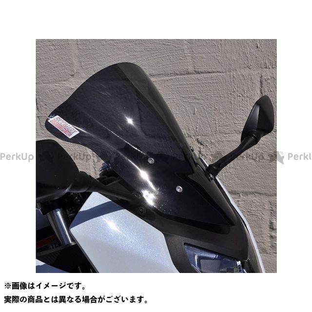 スキッドマークス CBR650F ウィンドスクリーン ダブルバブルタイプ ライトブロンズ Skidmarx
