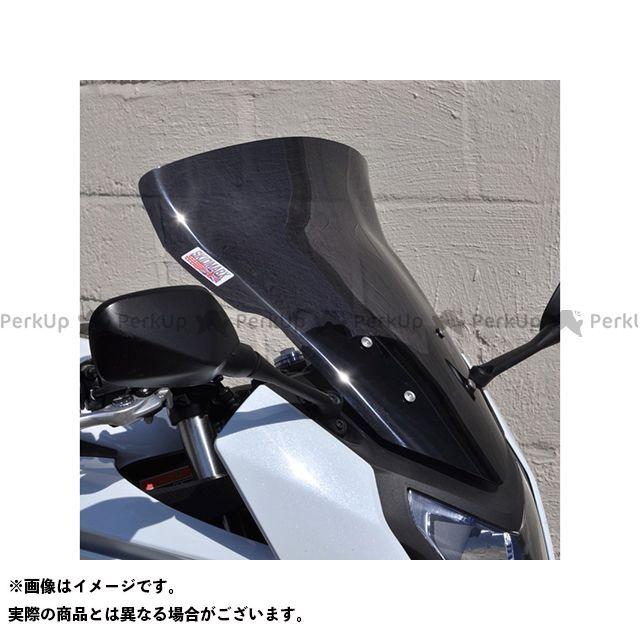 【無料雑誌付き】スキッドマークス CBR650F ウィンドスクリーン ツーリングタイプ カラー:ブルー Skidmarx