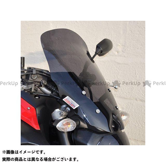 【特価品】スキッドマークス MT-07 ウィンドスクリーン ツーリングタイプ カラー:クリア Skidmarx