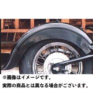 アメリカンドリームス スティード400 Fタイプリアフェンダー Wシート用 タイプ:黒ゲルコート American Dreams