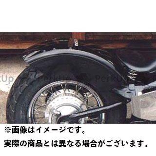 アメリカンドリームス スティード400 Sタイプリアフェンダー シングルシート用 タイプ:黒ゲルコート American Dreams