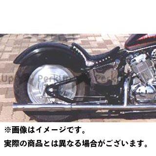 アメリカンドリームス スティード400 Kタイプリアフェンダー タイプ:黒ゲルコート American Dreams