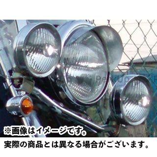 アメリカンドリームス イントルーダークラシック400 ヘッドライト・バルブ フォグランプ クリアレンズ