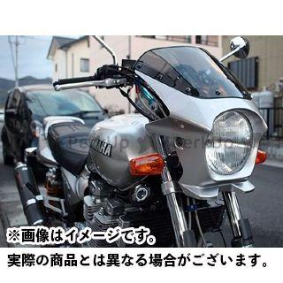 ワールドウォーク XJR1300 XJR400R カウル・エアロ 汎用ビキニカウル DS-01 typeR(シルバー3)