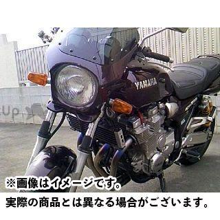 ワールドウォーク XJR1300 カウル・エアロ 汎用ビキニカウル DS-01 typeR(ミヤビマルーン)