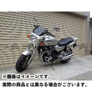 ワールドウォーク XJR1200 カウル・エアロ 汎用ビキニカウル DS-01 typeR(ニューシルバーダスト)
