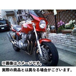 ワールドウォーク XJR400R カウル・エアロ 汎用ビキニカウル DS-01 typeR(ビビッドレッドカクテル7)