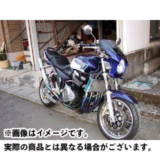 ワールドウォーク バンディット1200 GSX1400 GSX250FX カウル・エアロ 汎用ビキニカウル DS-01 typeR(パールスズキディープブルー no2)