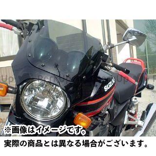 ワールドウォーク GSX1400 ST250 カウル・エアロ 汎用ビキニカウル DS-01 typeR(ソリッドブラック)