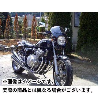 ワールドウォーク WW カウル・エアロ 汎用ビキニカウル DS-01 typeR(ピュアブラック)