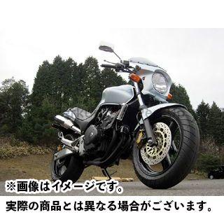 ワールドウォーク ホーネット カウル・エアロ 汎用ビキニカウル DS-01 typeR(ロビックスブルーメタリック)