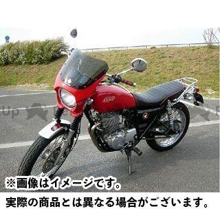 ワールドウォーク CB400SS カウル・エアロ 汎用ビキニカウル DS-01 typeR(パッションレッド)