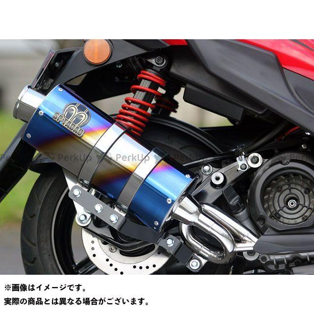 SP忠男 ビーウィズ125 シグナスX SR PURE SPORT OVAL ゴールドエンブレム チタンブルー スペシャルパーツタダオ