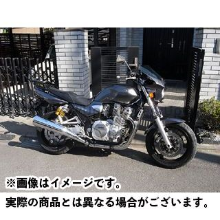ワールドウォーク XJR1300 カウル・エアロ 汎用ビキニカウル DS-01 typeR(ダークブルーイッシュグレーメタリック8)