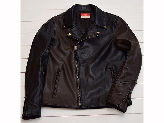 送料無料 Beat Caninng ビートカンニング ジャケット Leather Jacket ブラック/ブラウン 34
