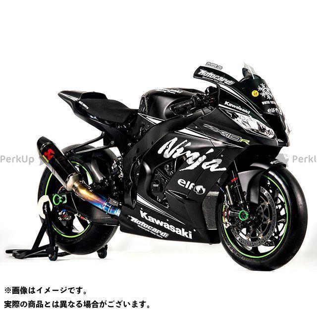 バルターモトコンポーネンツ ニンジャZX-10R バーエンド TRACK カラー:ガンメタ Valter Moto components