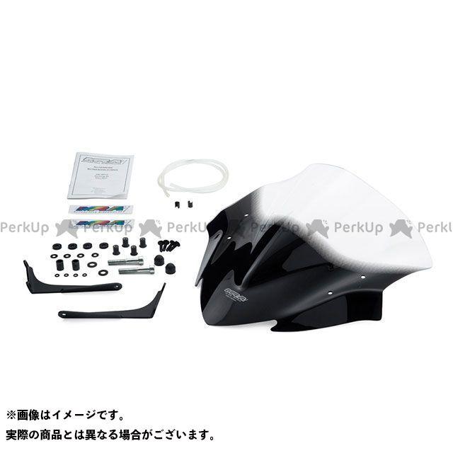 MRA GSX-S1000 スクリーン レーシング カラー:クリア エムアールエー