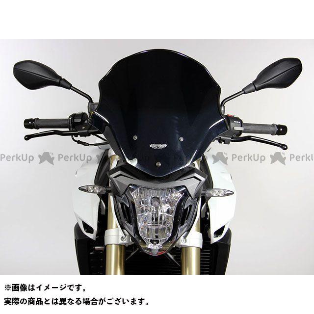 MRA F800R スクリーン ツーリング カラー:ブラック エムアールエー
