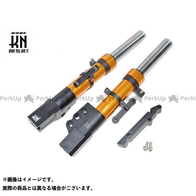 KN企画 シグナスX SR スーパーフロントフォーク シグナスX(4型)245mm/STDキャリパー ゴールド ケイエヌキカク