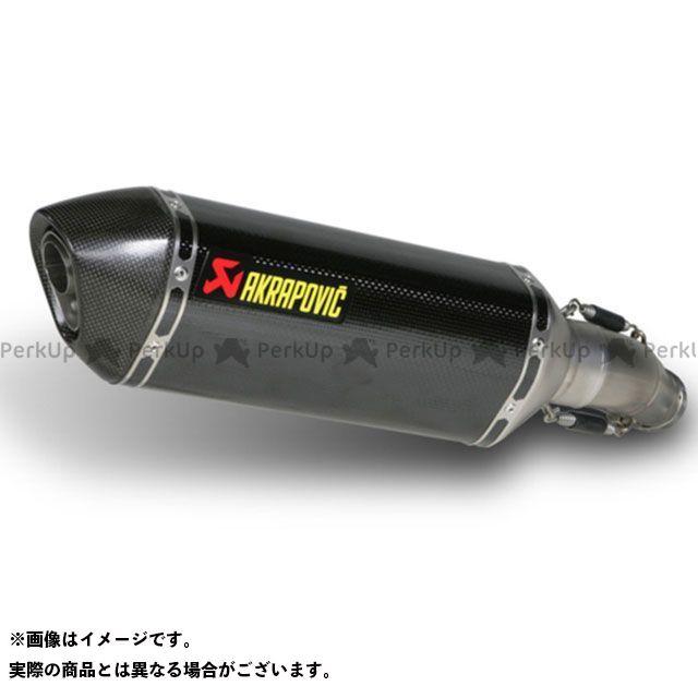アクラポビッチ GSX-R750 スリップオンマフラー e1(カーボン) AKRAPOVIC