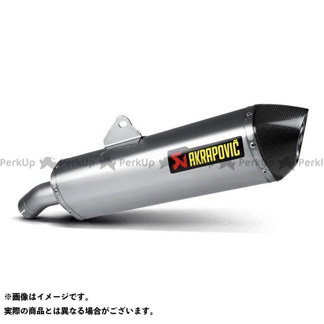 【エントリーで更にP5倍】アクラポビッチ F800GT スリップオンマフラー(チタン) AKRAPOVIC