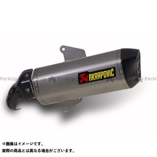 アクラポビッチ SRV850 スリップオンマフラー e1(ステンレス) AKRAPOVIC