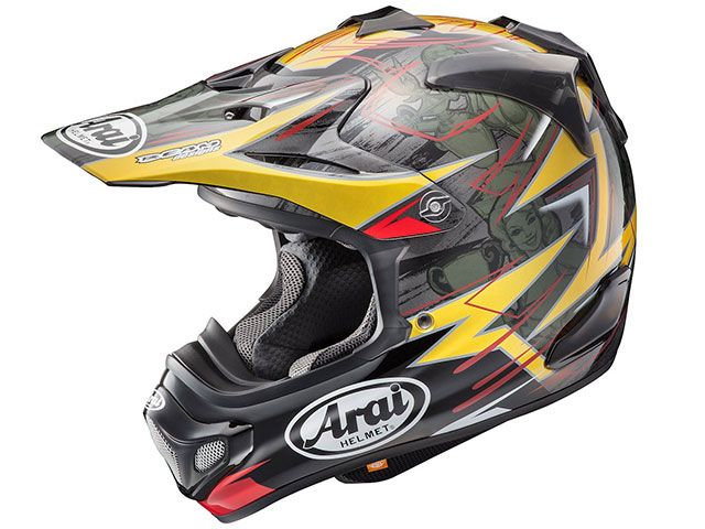 送料無料 アライ ヘルメット Arai オフロードヘルメット V-CROSS 4 TICKLE(V-クロス4・ティックル) 59-60cm
