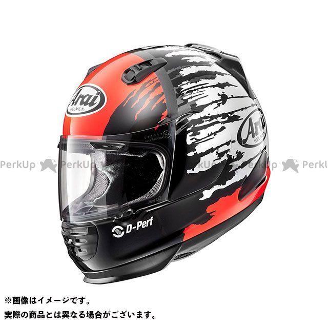 送料無料 アライ ヘルメット Arai フルフェイスヘルメット RAPIDE-IR SPLASH(ラパイド-IR・スプラッシュ) レッド 57-58cm