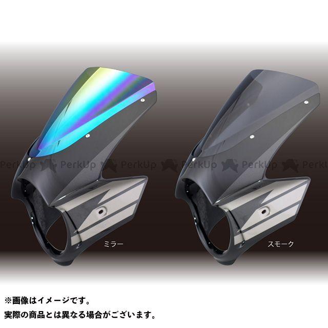 フォルスデザイン CB1300スーパーフォア(CB1300SF) CB1300SF ビキニカウル ウイングストライプカラー デザインA ブラック スモーク エンデュランススクリーン
