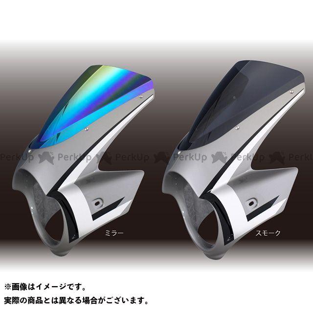 フォルスデザイン CB1300スーパーフォア CB1300SF CB1300SF ビキニカウル ウイングストライプカラー デザインB カウルカラー アイアンネイルシルバーメタリック スクリーンカラー ミラー スクリーンタイプ エンデュランススクリーン…