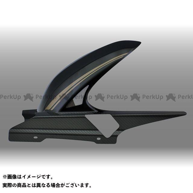 フォルスデザイン CB1300スーパーツーリング CB1300ST ハイブリッド・インナーフェンダー カラー:ストライプ・ブラック(2010-2011) 素材:綾織りカーボン 仕様:ロング・スリット有り FORCE DESIGN