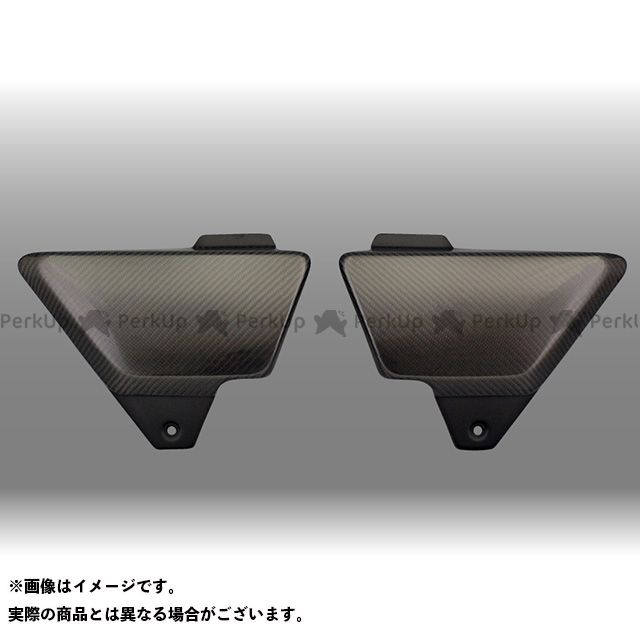 フォルスデザイン CB1100EX CB1100EX カーボンサイドカバー カラー:綾織りカーボン 仕様:立体エンブレム無し FORCE DESIGN