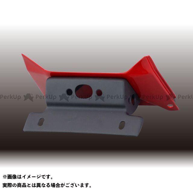 フォルスデザイン CB400スーパーフォア(CB400SF) CB400SF VTEC III フェンダーレスキット(セット)/STDフェンダー ベースカラー:キャンディブレイジングレッド FORCE DESIGN