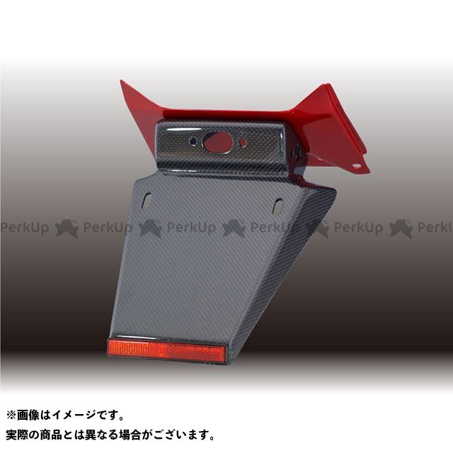 フォルスデザイン CB400スーパーフォア(CB400SF) CB400SF VTEC III フェンダーレスキット(セット)/カーボン(平織り)ショートフェンダー ベースカラー:パールプリズムブラック FORCE DESIGN