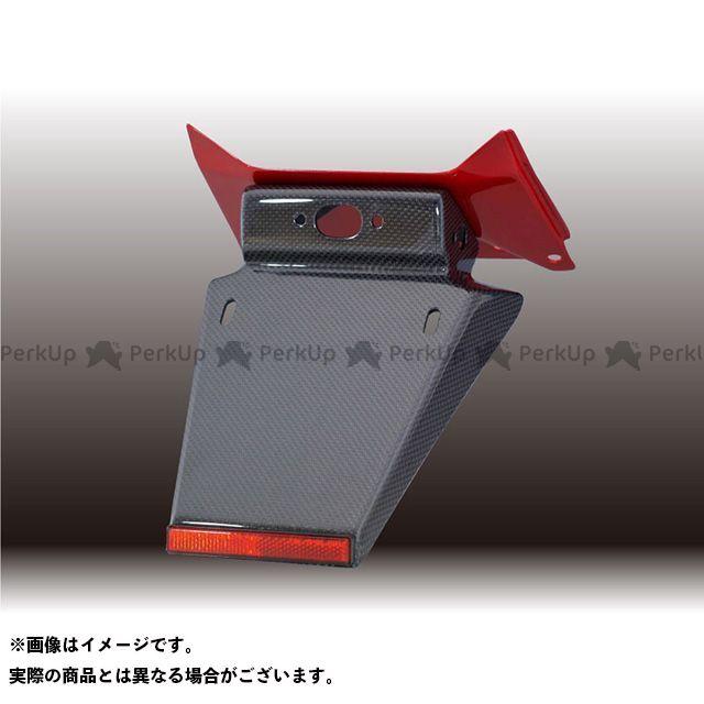 フォルスデザイン CB400スーパーフォア(CB400SF) CB400SF VTEC III フェンダーレスキット(セット)/カーボン(平織り)ショートフェンダー ベースカラー:キャンディブレイジングレッド FORCE DESIGN