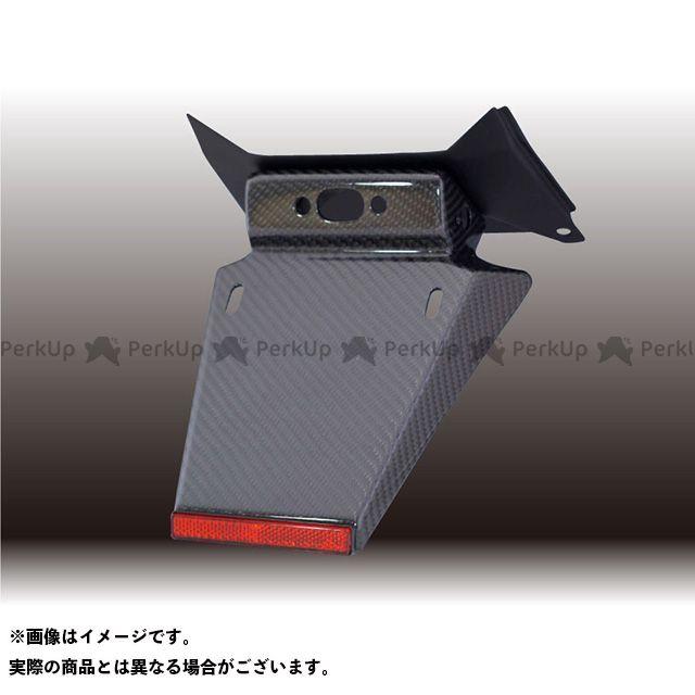 フォルスデザイン CB400スーパーフォア(CB400SF) CB400SF Revo フェンダーレスキット(セット)/カーボン(綾織り)ショートフェンダー ベースカラー:マットブラック FORCE DESIGN