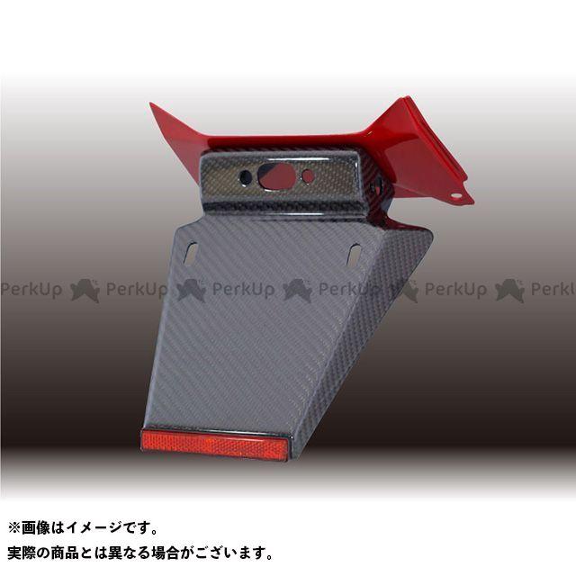 フォルスデザイン CB400スーパーフォア(CB400SF) CB400SF Revo フェンダーレスキット(セット)/カーボン(綾織り)ショートフェンダー ベースカラー:キャンディープロミネンスレッド FORCE DESIGN